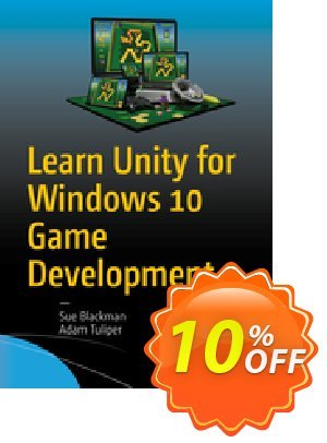 Learn Unity for Windows 10 Game Development (Blackman) 優惠券,折扣碼 Learn Unity for Windows 10 Game Development (Blackman) Deal,促銷代碼: Learn Unity for Windows 10 Game Development (Blackman) Exclusive Easter Sale offer for iVoicesoft