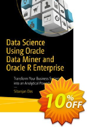 Data Science Using Oracle Data Miner and Oracle R Enterprise (Das) Coupon discount Data Science Using Oracle Data Miner and Oracle R Enterprise (Das) Deal. Promotion: Data Science Using Oracle Data Miner and Oracle R Enterprise (Das) Exclusive Easter Sale offer for iVoicesoft