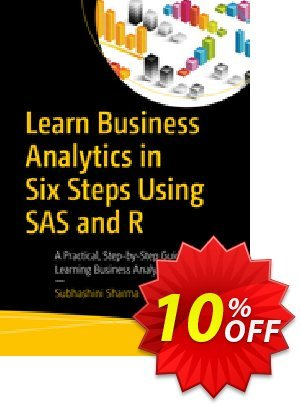 Learn Business Analytics in Six Steps Using SAS and R (Tripathi) 優惠券,折扣碼 Learn Business Analytics in Six Steps Using SAS and R (Tripathi) Deal,促銷代碼: Learn Business Analytics in Six Steps Using SAS and R (Tripathi) Exclusive Easter Sale offer for iVoicesoft