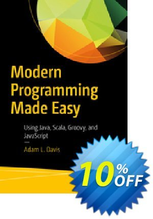 Modern Programming Made Easy (Davis) 優惠券,折扣碼 Modern Programming Made Easy (Davis) Deal,促銷代碼: Modern Programming Made Easy (Davis) Exclusive Easter Sale offer for iVoicesoft