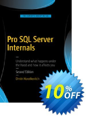 Pro SQL Server Internals (Korotkevitch) 優惠券,折扣碼 Pro SQL Server Internals (Korotkevitch) Deal,促銷代碼: Pro SQL Server Internals (Korotkevitch) Exclusive Easter Sale offer for iVoicesoft