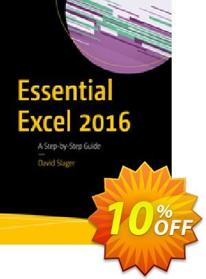 Essential Excel 2016 (Slager) Coupon discount Essential Excel 2016 (Slager) Deal. Promotion: Essential Excel 2016 (Slager) Exclusive Easter Sale offer for iVoicesoft