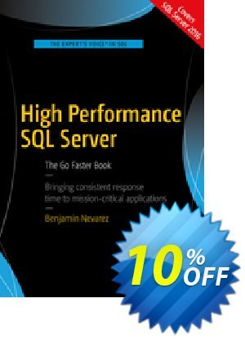 High Performance SQL Server (Nevarez) 優惠券,折扣碼 High Performance SQL Server (Nevarez) Deal,促銷代碼: High Performance SQL Server (Nevarez) Exclusive Easter Sale offer for iVoicesoft