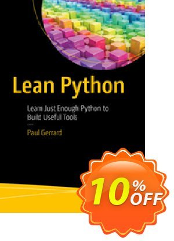 Lean Python (Gerrard) 프로모션 코드 Lean Python (Gerrard) Deal 프로모션: Lean Python (Gerrard) Exclusive Easter Sale offer for iVoicesoft