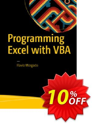 Programming Excel with VBA (Morgado) 프로모션 코드 Programming Excel with VBA (Morgado) Deal 프로모션: Programming Excel with VBA (Morgado) Exclusive Easter Sale offer for iVoicesoft
