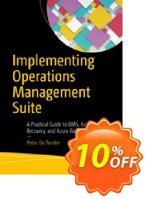 Implementing Operations Management Suite (De Tender) Coupon discount Implementing Operations Management Suite (De Tender) Deal. Promotion: Implementing Operations Management Suite (De Tender) Exclusive Easter Sale offer for iVoicesoft