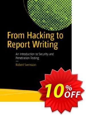 From Hacking to Report Writing (Svensson) 프로모션 코드 From Hacking to Report Writing (Svensson) Deal 프로모션: From Hacking to Report Writing (Svensson) Exclusive Easter Sale offer for iVoicesoft