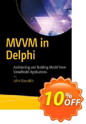MVVM in Delphi (Kouraklis) 優惠券,折扣碼 MVVM in Delphi (Kouraklis) Deal,促銷代碼: MVVM in Delphi (Kouraklis) Exclusive Easter Sale offer for iVoicesoft