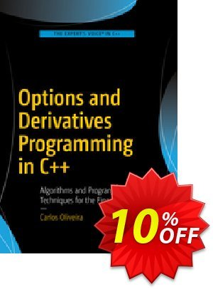 Options and Derivatives Programming in C++ (OLIVEIRA) 프로모션 코드 Options and Derivatives Programming in C++ (OLIVEIRA) Deal 프로모션: Options and Derivatives Programming in C++ (OLIVEIRA) Exclusive Easter Sale offer for iVoicesoft