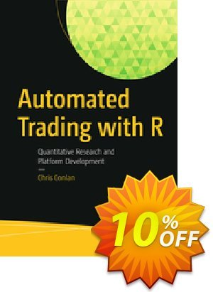 Automated Trading with R (Conlan) 프로모션 코드 Automated Trading with R (Conlan) Deal 프로모션: Automated Trading with R (Conlan) Exclusive Easter Sale offer for iVoicesoft