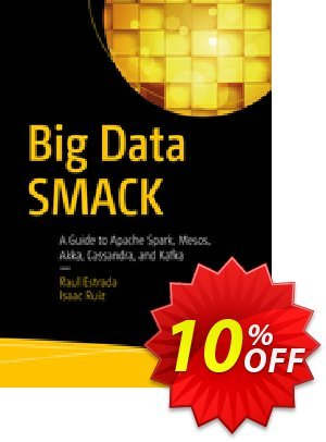 Big Data SMACK (Estrada) discount coupon Big Data SMACK (Estrada) Deal - Big Data SMACK (Estrada) Exclusive Easter Sale offer for iVoicesoft