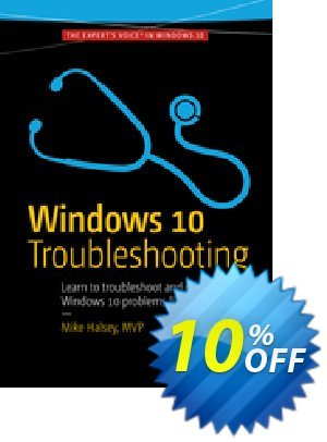 Windows 10 Troubleshooting (Halsey) Coupon discount Windows 10 Troubleshooting (Halsey) Deal. Promotion: Windows 10 Troubleshooting (Halsey) Exclusive Easter Sale offer for iVoicesoft