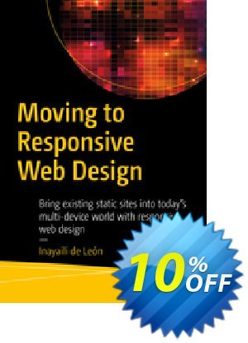 Moving to Responsive Web Design (de León) 프로모션 코드 Moving to Responsive Web Design (de León) Deal 프로모션: Moving to Responsive Web Design (de León) Exclusive Easter Sale offer for iVoicesoft