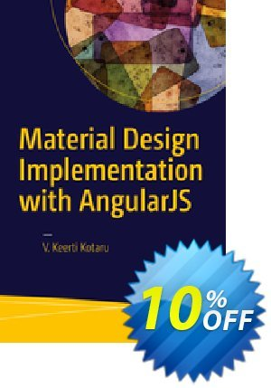 Material Design Implementation with AngularJS (Kotaru) discount coupon Material Design Implementation with AngularJS (Kotaru) Deal - Material Design Implementation with AngularJS (Kotaru) Exclusive Easter Sale offer for iVoicesoft
