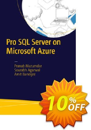 Pro SQL Server on Microsoft Azure (Mazumdar) discount coupon Pro SQL Server on Microsoft Azure (Mazumdar) Deal - Pro SQL Server on Microsoft Azure (Mazumdar) Exclusive Easter Sale offer for iVoicesoft