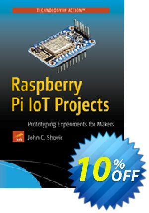 Raspberry Pi IoT Projects (Shovic) 프로모션 코드 Raspberry Pi IoT Projects (Shovic) Deal 프로모션: Raspberry Pi IoT Projects (Shovic) Exclusive Easter Sale offer for iVoicesoft