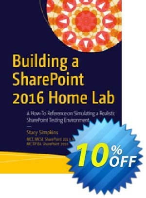 Building a SharePoint 2016 Home Lab (Simpkins) discount coupon Building a SharePoint 2016 Home Lab (Simpkins) Deal - Building a SharePoint 2016 Home Lab (Simpkins) Exclusive Easter Sale offer for iVoicesoft
