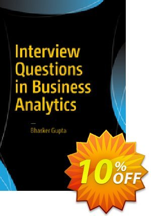 Interview Questions in Business Analytics (Gupta) discount coupon Interview Questions in Business Analytics (Gupta) Deal - Interview Questions in Business Analytics (Gupta) Exclusive Easter Sale offer for iVoicesoft