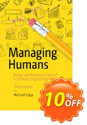 Managing Humans (Lopp) 프로모션 코드 Managing Humans (Lopp) Deal 프로모션: Managing Humans (Lopp) Exclusive Easter Sale offer for iVoicesoft