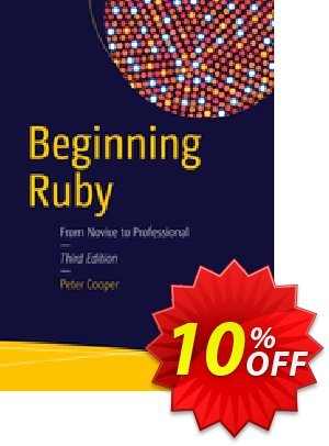 Beginning Ruby (Cooper) 優惠券,折扣碼 Beginning Ruby (Cooper) Deal,促銷代碼: Beginning Ruby (Cooper) Exclusive Easter Sale offer for iVoicesoft