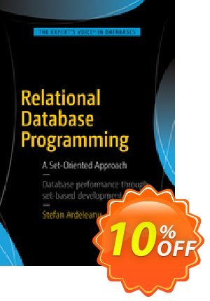 Relational Database Programming (Ardeleanu) 프로모션 코드 Relational Database Programming (Ardeleanu) Deal 프로모션: Relational Database Programming (Ardeleanu) Exclusive Easter Sale offer for iVoicesoft