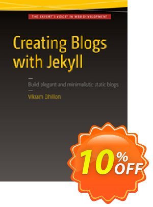 Creating Blogs with Jekyll (Dhillon) discount coupon Creating Blogs with Jekyll (Dhillon) Deal - Creating Blogs with Jekyll (Dhillon) Exclusive Easter Sale offer for iVoicesoft