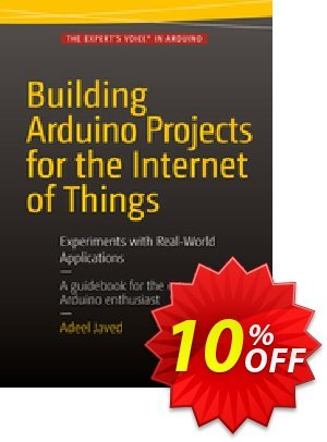 Building Arduino Projects for the Internet of Things (Javed) Coupon discount Building Arduino Projects for the Internet of Things (Javed) Deal. Promotion: Building Arduino Projects for the Internet of Things (Javed) Exclusive Easter Sale offer for iVoicesoft