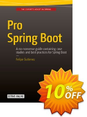Pro Spring Boot (Gutierrez) 프로모션 코드 Pro Spring Boot (Gutierrez) Deal 프로모션: Pro Spring Boot (Gutierrez) Exclusive Easter Sale offer for iVoicesoft