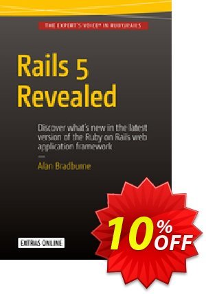 Rails 5 Revealed (Bradburne) discount coupon Rails 5 Revealed (Bradburne) Deal - Rails 5 Revealed (Bradburne) Exclusive Easter Sale offer for iVoicesoft