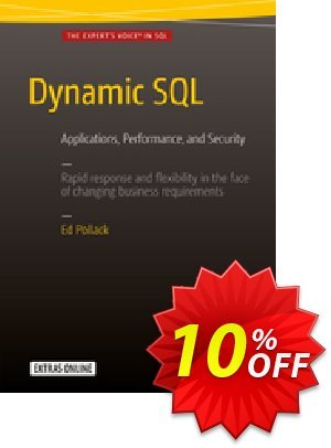 Dynamic SQL (Pollack) discount coupon Dynamic SQL (Pollack) Deal - Dynamic SQL (Pollack) Exclusive Easter Sale offer for iVoicesoft