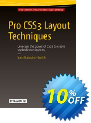 Pro CSS3 Layout Techniques (Hampton-Smith) discount coupon Pro CSS3 Layout Techniques (Hampton-Smith) Deal - Pro CSS3 Layout Techniques (Hampton-Smith) Exclusive Easter Sale offer for iVoicesoft