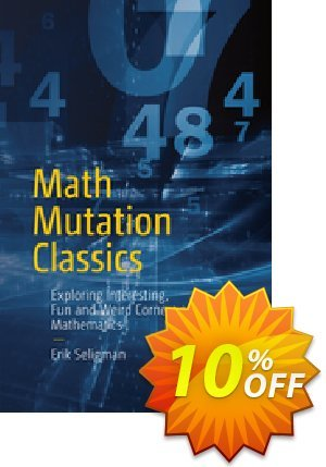 Math Mutation Classics (Seligman) discount coupon Math Mutation Classics (Seligman) Deal - Math Mutation Classics (Seligman) Exclusive Easter Sale offer for iVoicesoft