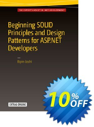 Beginning SOLID Principles and Design Patterns for ASP.NET  Developers (Joshi) discount coupon Beginning SOLID Principles and Design Patterns for ASP.NET  Developers (Joshi) Deal - Beginning SOLID Principles and Design Patterns for ASP.NET  Developers (Joshi) Exclusive Easter Sale offer for iVoicesoft