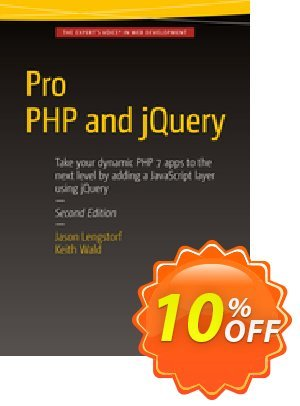 Pro PHP and jQuery (Wald) 프로모션 코드 Pro PHP and jQuery (Wald) Deal 프로모션: Pro PHP and jQuery (Wald) Exclusive Easter Sale offer for iVoicesoft