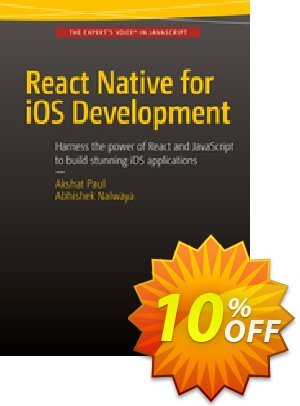 React Native for iOS Development (Paul) discount coupon React Native for iOS Development (Paul) Deal - React Native for iOS Development (Paul) Exclusive Easter Sale offer for iVoicesoft