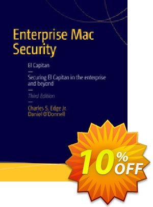 Enterprise Mac Security: Mac OS X (EDGE) Coupon discount Enterprise Mac Security: Mac OS X (EDGE) Deal. Promotion: Enterprise Mac Security: Mac OS X (EDGE) Exclusive Easter Sale offer for iVoicesoft