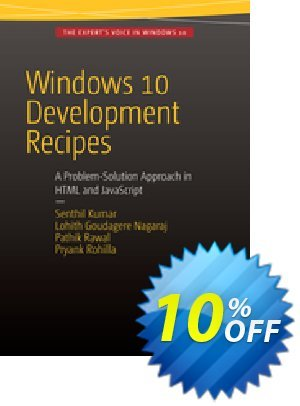 Windows 10 Development Recipes (Kumar) 프로모션 코드 Windows 10 Development Recipes (Kumar) Deal 프로모션: Windows 10 Development Recipes (Kumar) Exclusive Easter Sale offer for iVoicesoft