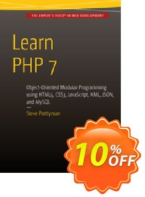 Learn PHP 7 (Prettyman) 프로모션 코드 Learn PHP 7 (Prettyman) Deal 프로모션: Learn PHP 7 (Prettyman) Exclusive Easter Sale offer for iVoicesoft