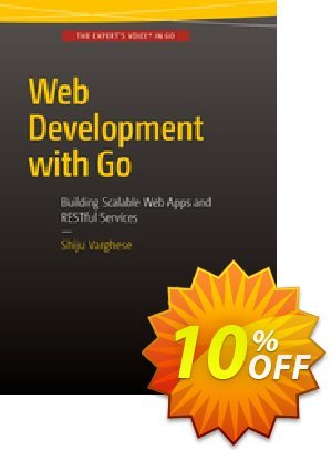 Web Development with Go (Varghese) 프로모션 코드 Web Development with Go (Varghese) Deal 프로모션: Web Development with Go (Varghese) Exclusive Easter Sale offer for iVoicesoft