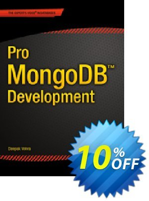 Pro MongoDB Development (Vohra) discount coupon Pro MongoDB Development (Vohra) Deal - Pro MongoDB Development (Vohra) Exclusive Easter Sale offer for iVoicesoft