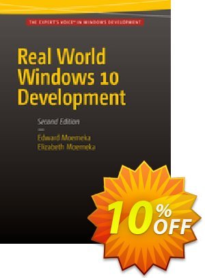 Real World Windows 10 Development (Moemeka) Coupon discount Real World Windows 10 Development (Moemeka) Deal. Promotion: Real World Windows 10 Development (Moemeka) Exclusive Easter Sale offer for iVoicesoft