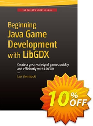 Beginning Java Game Development with LibGDX (Stemkoski) discount coupon Beginning Java Game Development with LibGDX (Stemkoski) Deal - Beginning Java Game Development with LibGDX (Stemkoski) Exclusive Easter Sale offer for iVoicesoft