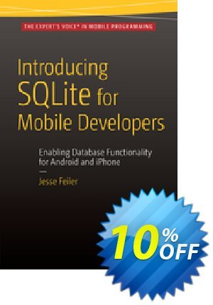 Introducing SQLite for Mobile Developers (Feiler) discount coupon Introducing SQLite for Mobile Developers (Feiler) Deal - Introducing SQLite for Mobile Developers (Feiler) Exclusive Easter Sale offer for iVoicesoft