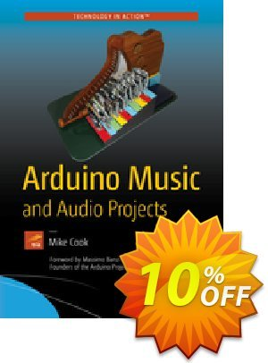 Arduino Music and Audio Projects (Cook) discount coupon Arduino Music and Audio Projects (Cook) Deal - Arduino Music and Audio Projects (Cook) Exclusive Easter Sale offer for iVoicesoft