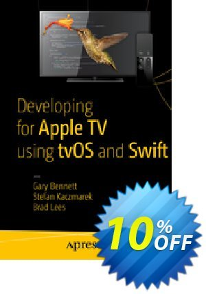 Developing for Apple TV using tvOS and Swift (Bennett) discount coupon Developing for Apple TV using tvOS and Swift (Bennett) Deal - Developing for Apple TV using tvOS and Swift (Bennett) Exclusive Easter Sale offer for iVoicesoft