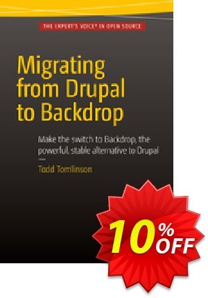 Migrating from Drupal to Backdrop (Tomlinson) 프로모션 코드 Migrating from Drupal to Backdrop (Tomlinson) Deal 프로모션: Migrating from Drupal to Backdrop (Tomlinson) Exclusive Easter Sale offer for iVoicesoft