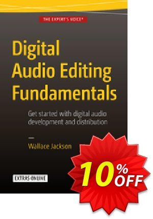 Digital Audio Editing Fundamentals (Jackson) discount coupon Digital Audio Editing Fundamentals (Jackson) Deal - Digital Audio Editing Fundamentals (Jackson) Exclusive Easter Sale offer for iVoicesoft