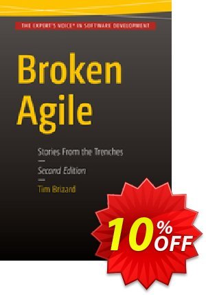 Broken Agile (Brizard) Coupon discount Broken Agile (Brizard) Deal. Promotion: Broken Agile (Brizard) Exclusive Easter Sale offer for iVoicesoft