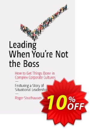 Leading When You're Not the Boss (Strathausen) discount coupon Leading When You're Not the Boss (Strathausen) Deal - Leading When You're Not the Boss (Strathausen) Exclusive Easter Sale offer for iVoicesoft