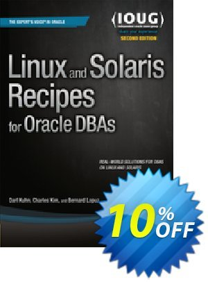 Linux and Solaris Recipes for Oracle DBAs (Kuhn) discount coupon Linux and Solaris Recipes for Oracle DBAs (Kuhn) Deal - Linux and Solaris Recipes for Oracle DBAs (Kuhn) Exclusive Easter Sale offer for iVoicesoft